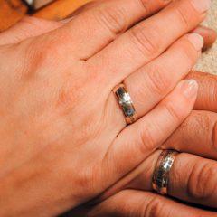 Handgefertigte Trauringe für ihre Hochzeit