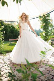 Brautkleid von Kleemeier bei Brautmoden Hähnel bei Chemnitz