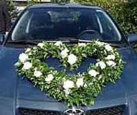 Brautstrauß Dresden - Autoschmuck