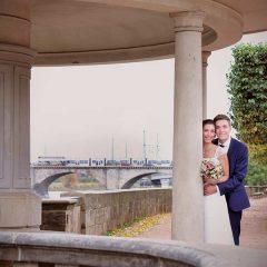 Wunderschöne romantische Hochzeitsfotos von Foto Hahn