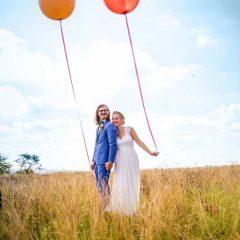 Romantische Hochzeitsfotos von Foto Hahn