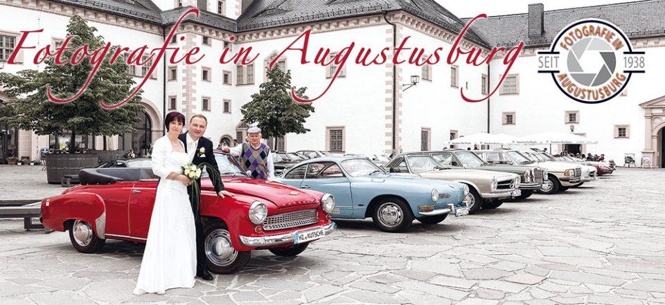 Hochzeitsfotos auf Schloss Augustusburg