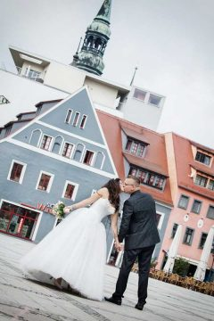 kreative Hochzeitsfotos vom Foto-Studio Bergfeld aus Wilkau-Haßlau