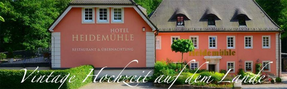 Naturhotel Hedemühle - Ihr Hochzeitshotel in Rabenau