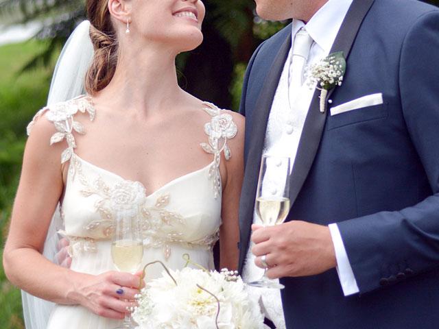 Sektempfang auf der Hochzeit