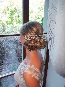 Brautstyling aus dem Salon Leischner
