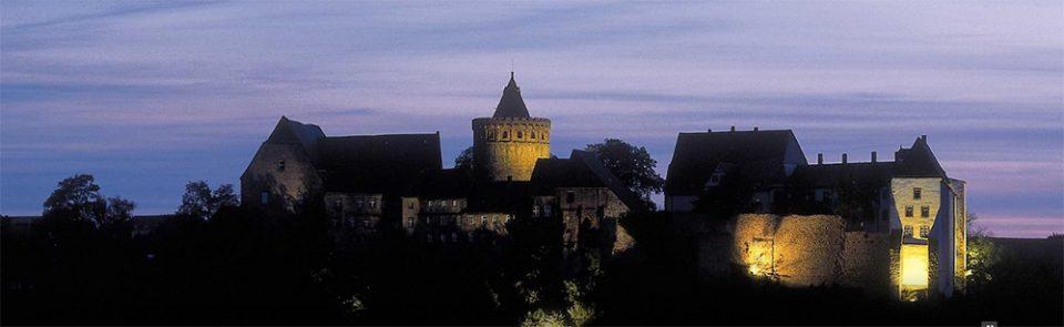 standesamtlich heiraten und Hochzeit Feiern auf Burg Mildenstein