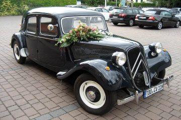 Citroen Oldtimer für Ihre Hochzeit in Leipzig