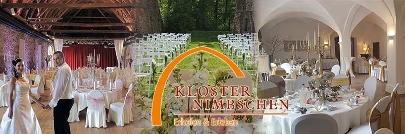 Hochzeitslocation Kloster Nimschen