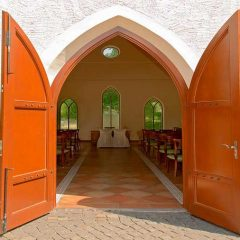 Hochzeitskapelle in der Hochzeitslocation Kloster Nimbschen