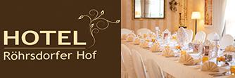 Hochzeit Röhrsdorfer Hof