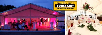 Zeltvermietung Zwickau - Das Zelt für Ihre Hochzeit