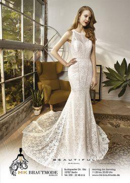 Wunderschönes Brautkleid von MK-Brautmode