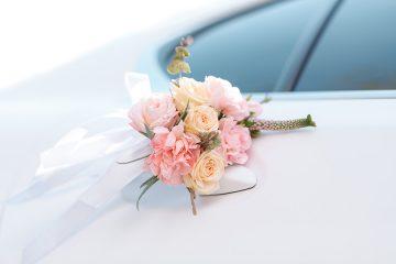 Blumenschmuck und Autoschmuck für Ihr Hochzeitsauto