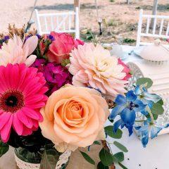 wunderbarer Blumenzauber bei Prinzlss Moments bei Burgenland Hochzeit