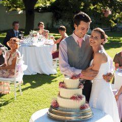 perfekte Hochzeitsfeier