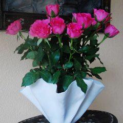 Wunderschöne Blumen Vase von Carolina