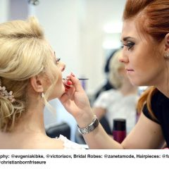 Brautfrisur und Braut-Make-up Leipzig