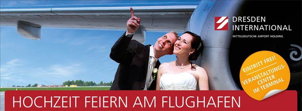 Hochzeit im Flughafen Dresden - verschiedene Räumlichkeiten von 80–400 Personen