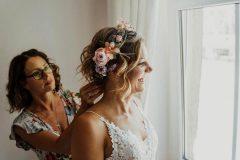 Brautfrisur vom Haarstudio & Kosmetik ML Halle