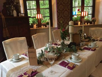 Restaurant für Ihre Hochzeit im Vogtland
