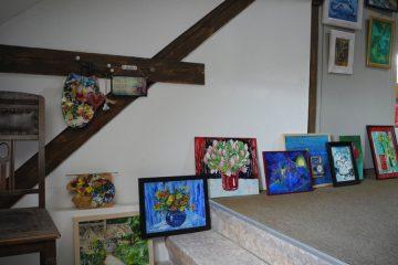 Gemälde von Sonja Recknagel als Hochzeitsgeschenk