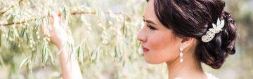 Brautfrisur und-kosmetik für Ihre Hochzeit