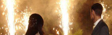 Feuerwerk zur Hochzeit in Leipzig, Halle und Umgebung