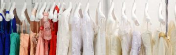 Reinigung und Färben von Hochzeitsmode in Dresden und Umgebung