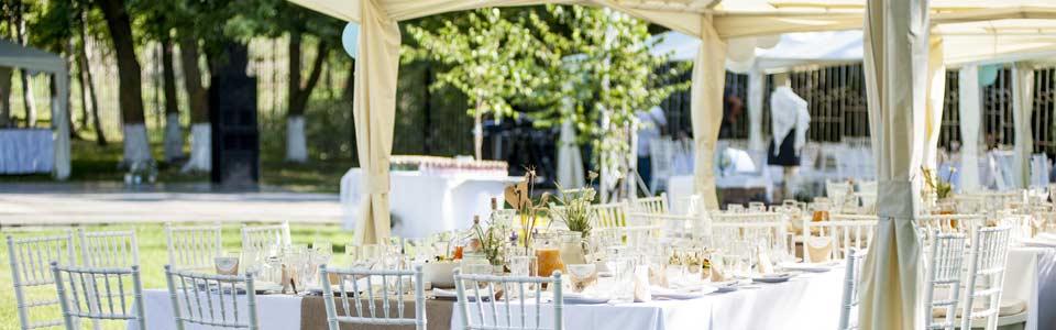 Zeltvermietung für Ihre Hochzeit in Dresden und Umgebung