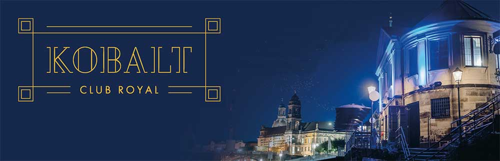Hochzeitslocation Dresden direkt an der Elbe - Kobalt - Club Royal