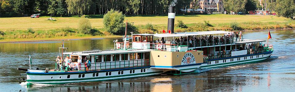 Schifffahrten für Ihre Hochzeit in Dresden und Umgebung