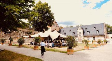 Strechtzelt Schlosshof Eventime