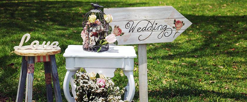 Hochzeitskonzept